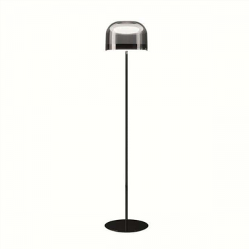 SPACE CONTEMPORARY LAMPS IN PEARL BLACK & ROSE GOLD (TABLE/ FLOOR)