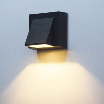 CARTON OUTDOOR CONTEMPORARY COLUMN WALL LIGHT (SINGLE/ DOUBLE)