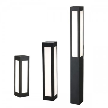 GOUIN OUTDOOR WEATHERPROOF IP54 RECTANGULAR BOLLARD (DIRECT/ SOLAR POWER)