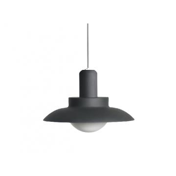 BRONWYN IP54 CLASSIC VERSATILE WEATHERPROOF MODERN HANGING OUTDOOR PENDANT LAMP (BLACK/ WHITE)