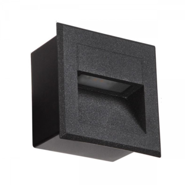 NEON OUTDOOR WEATHERPROOF RECESSED STEP LIGHT (SQUARE / RECTANGULAR)