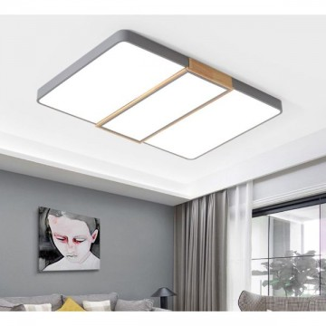 OTTO SIMPLE PERSONALITY WOODEN LED CEILING LIGHT