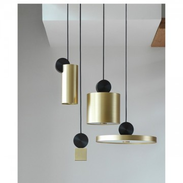 ANTHONY CLASSY BRASS HANGING PENDANT ISLAND COUNTER LIGHT