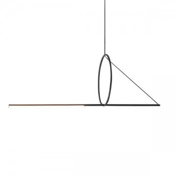 BAYONET SCANDINAVIAN RING LINEAR SUSPENSION LAMP