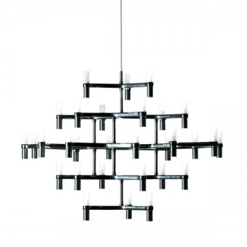 CLIFF EXUBERANT LOBBY GRAND CHANDELIER (SILVER/ GOLD/ BLACK)