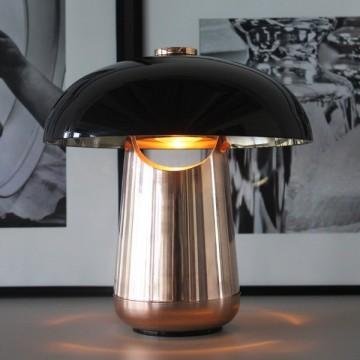 COMET DESIGNER INSPIRED STYLISH TABLE LAMP (GLOSSY/ HAIRLINE)