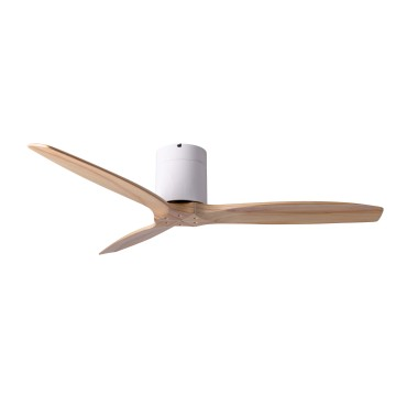 SPIN TIMBER X QUINCY CEILING FAN (WOODEN BLADES ASH/ OAK/ OFF-WHITE)