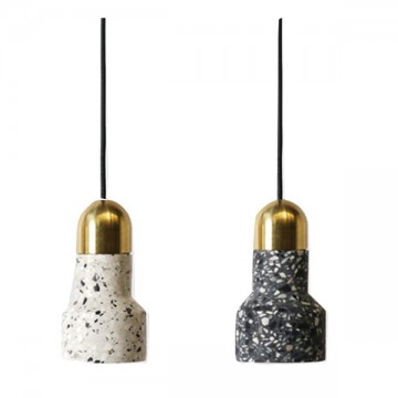 ALMA TERRAZZO MARBLE CHIPPINGS CERAMIC PENDANT LIGHTS