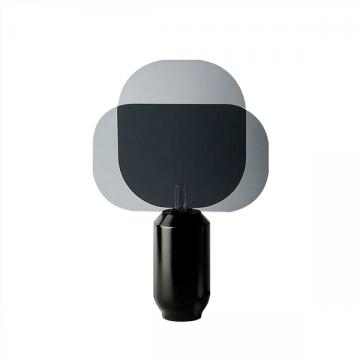 BERY FASHIONABLE STYLISH COOL BLACK MODERN TABLE LAMP